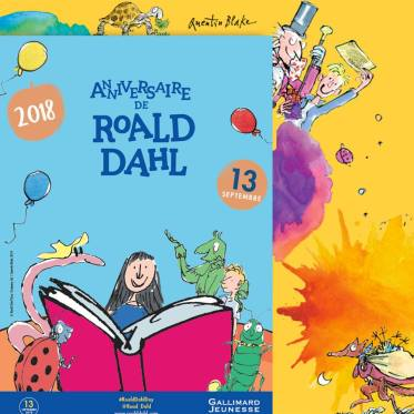 happy roald dahl day
