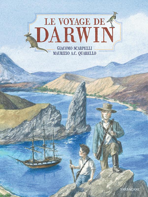 Le voyage de Darwin_couverture