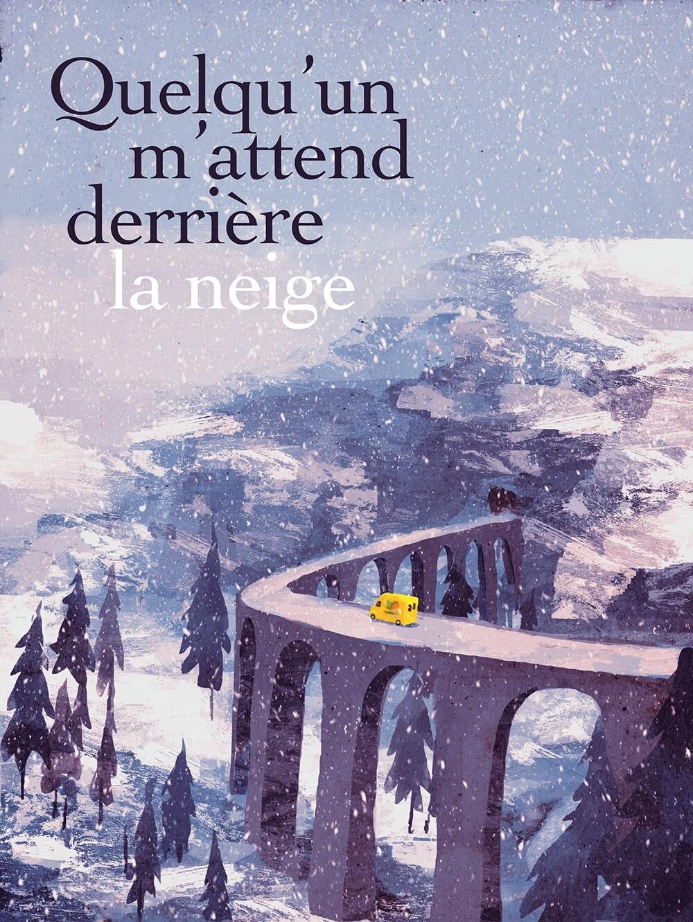 Quelqu'un m'attend derrière la neige_couv